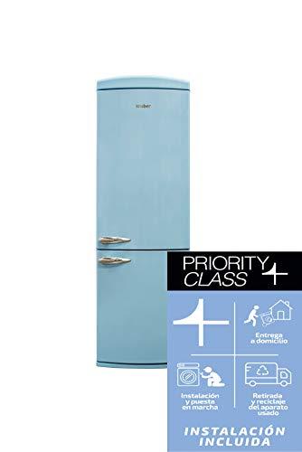 Sauber - Frigorífico Combi SCR190A - Eficiencia energética: A+ - 190x60cm -...