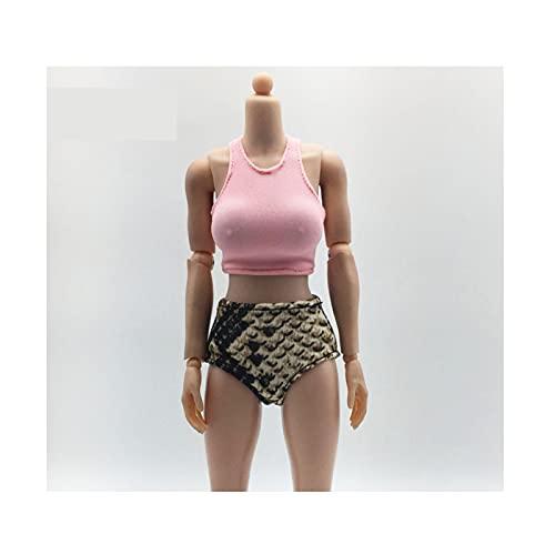 QQAA Figura de 1/6 a escala femenina, accesorio de muñeca para 12 figuras, hecha a mano, ropa de muñeca, ropa de muñeca, ropa deportiva de moda, para muñeca femenina, modelo S B