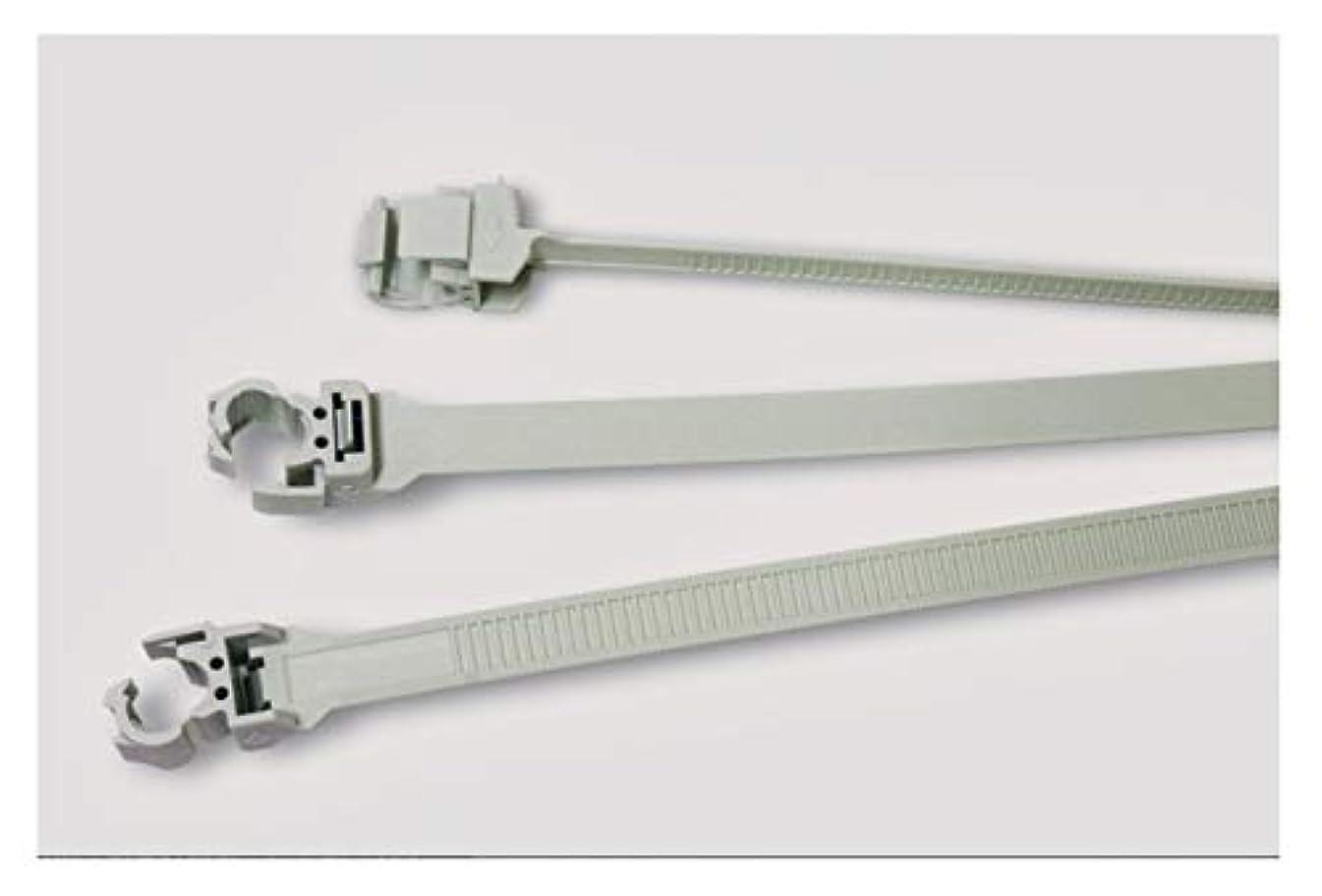 シンプルさ死んでいるヒュームヘラマンタイトン 吊りボルトタイ BCT225 アイボリー 10本セット