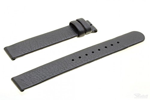 Boccia Original Lederband Armband für Uhr Modell 3238-01