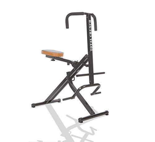 Mediashop TOTAL Crunch Trainingsgerät | Heimtrainer | Fitnessgerät | Bizeps, Latissimus, Bauch, Schultern, Rücken- und Deltamuskeln | leichtes Cardio-Workout | Das Original aus dem TV