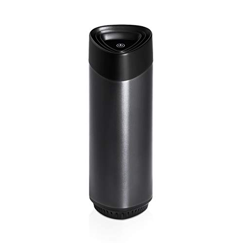 HomeMiYN Air Purifier with Removable Carbon HEPA Filter Air Purifier for Allergies Capture Pollen Dust Odor Suitable for Car Ideal Portable Air Purifiers