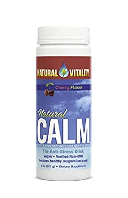Natural Vitality Calm, The Anti-Stress Drink Mix, Magnesium Supplement Powder