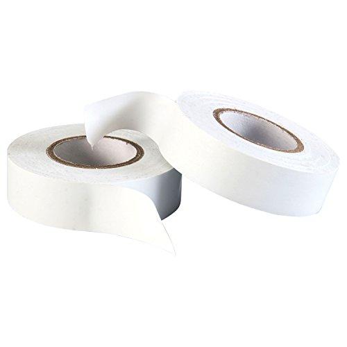 Gocableties Polyvinylchlorid-Elektro-Isolierband, 20 m x 19 mm, Premium-Doppelpack, 2 Rollen, Weiß PVC-Klebeband