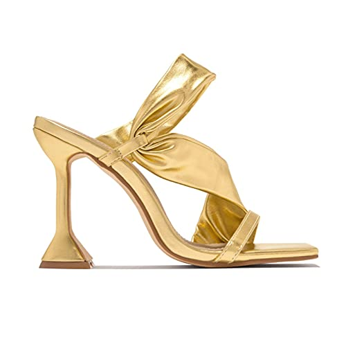 2021 nuevo Stiletto Sandalias Mujer Moda Zapatos de tacón Tacón Alto Elegant...