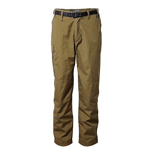 Craghoppers Kiwi Classic TRS - Pantaloni da Trekking da Uomo Muschio Scuro. 30W Lange