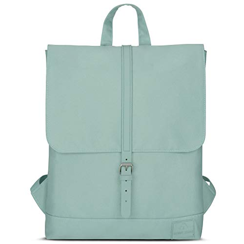 Backpack Women Mint Green - Johnny Urban MIA Rucksack from Recycled...
