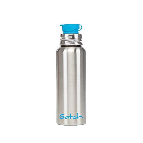 Satch SAT-BOT-001-299 Unisex Trinkflasche, silberfarben