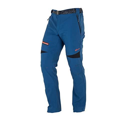 NEWWOOD - Pantalón Senderismo y Trekking 6328028 Hombre Azul 48