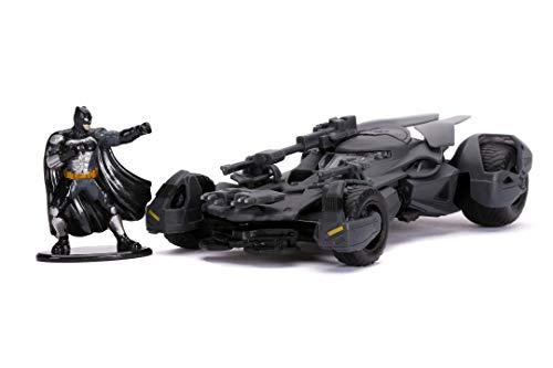 Jada Coche Batmóvil metal 1:32 Liga de la Justicia con figura Batman (253213005)