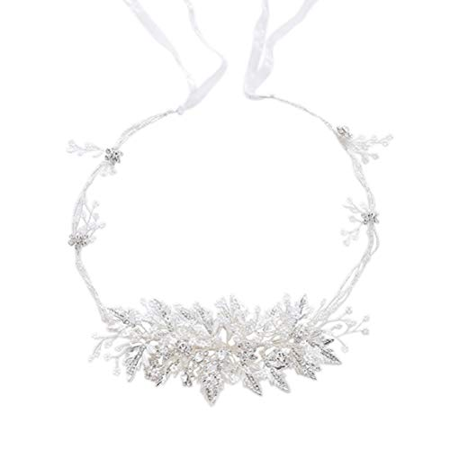 Nuptiale bandeau perles feuille d'érable bande de cheveux bandeau accessoires de robe de mariée robe de mariage (D2198)