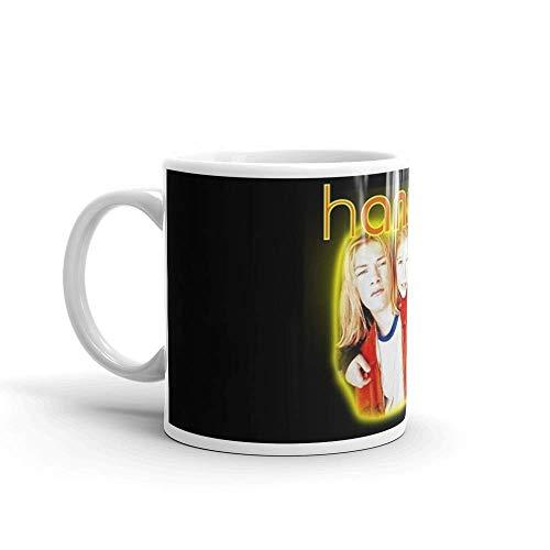 Lsjuee HANSON. Las tazas de 11 onzas son el regalo perfecto para todos. Tazas de café clásicas de 11 onzas, asa en C y construcción de cerámica