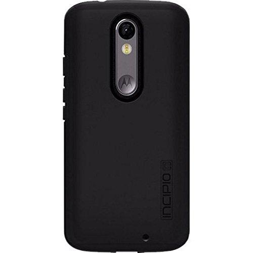 Incipio DualPro Original Dual Layer Protective Case for Motorola Droid Turbo 2 - Black