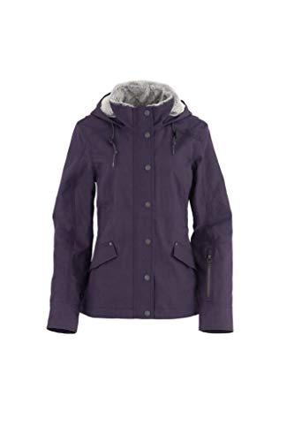 Noble Equestrian Stable Ready Canvas Jacket, Medium, Grape Royale