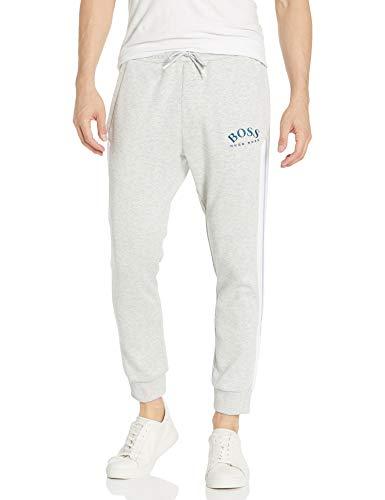 Hugo Boss BOSS Men's Sweatpants, Light Grey Melange, M