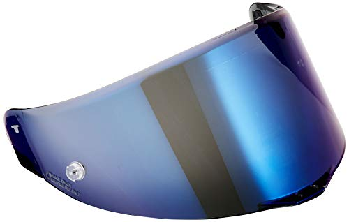 AGV Pista/Corsa - Visor para casco (transparente, resistente a los arañazos)