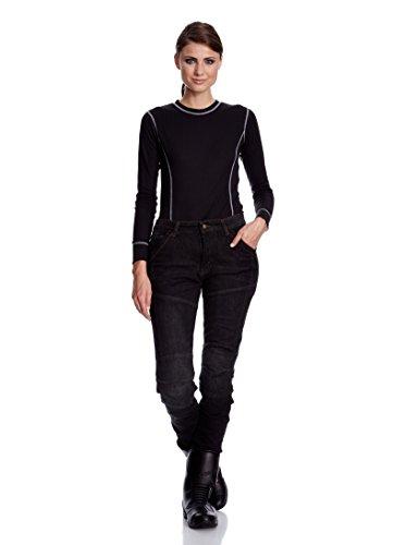 Roleff Racewear Motorradhose Kevlar Jeans für Damen, Schwarz, Größe 31 - 3