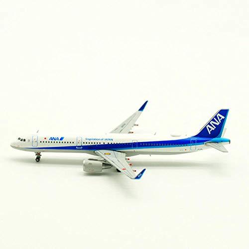 FJCY Airbus A321 Flugzeuge im Maßstab 1: 400 Modellflugzeug ANA japanische Legierungsflugzeuge