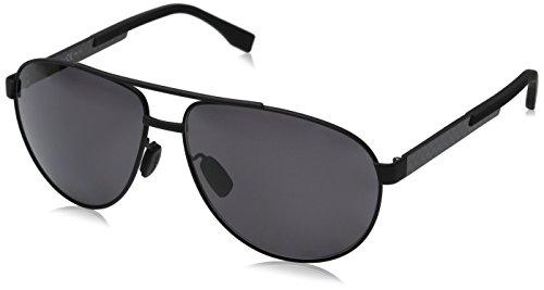 Hugo Boss Herren BOSS 0752/F/S 3H KCQ 63 Sonnenbrille, Schwarz (Mtblk Carbon/Grey Pz)