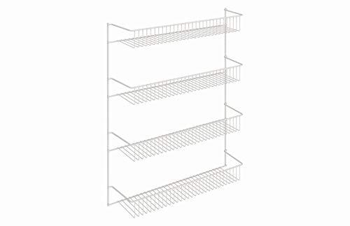 ClosetMaid 8033 4-Tier Wall Rack, 18-Inch Wide