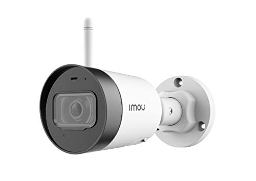 Imou Bullet Lite 4MP (QHD) Outdoor Wireless Security Camera - Clear Night Vision, Motion Detection Alerts, Built-in Microphone, SD Card Slot, App Control with Remote Viewing - Works with Alexa/Google
