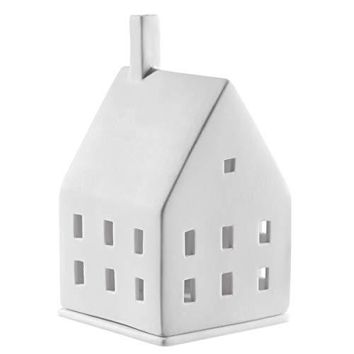 Räder - Neues Lichthaus/Teelichthaus - Lichtzauber - Porzellan 7 x 7 x 10 cm