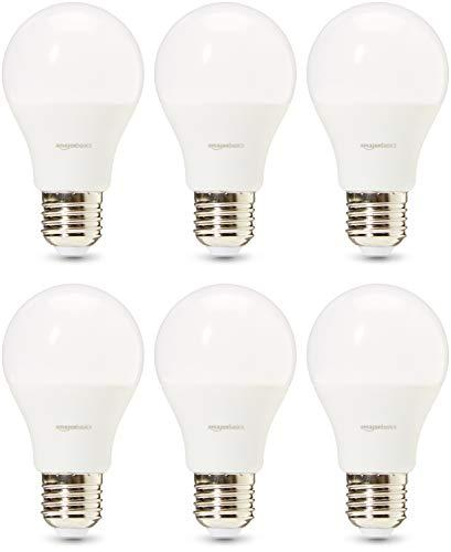 AmazonBasics Professional - LED-Leuchtmittel, Edison-Schraubgewinde (E27), entspricht 40-Watt-Birne, Warmweiß, 6 Stück