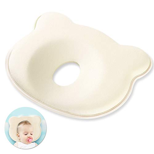 babykissen gegen plattkopf,Baby-Kissen für Flachkopf-Syndrom,Memory-Schaum-Kissen für Baby,das Baby Kissen,Babykissen gegen,Babykissen Orthopädisches,Verformung des Hinterkopfs rutschfest