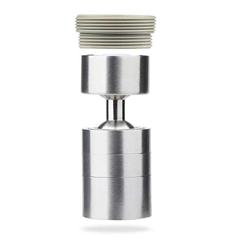KWODE Swivel Sink Faucet Aerator Sprayer 360...