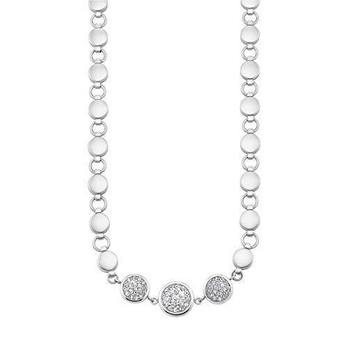 s.Oliver Collier für Damen aus Edelstahl, längenverstellbar, mit Kristallen von Swarovski®