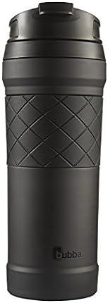 Bubba HERO Elite - Taza de viaje de acero inoxidable con aislamiento al vacío con TasteGuard (1.4fl oz), color negro