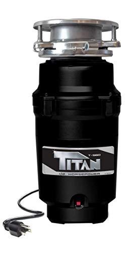 Titan 10-US-TN-560-3B Garbage Disposal, 1/2 HP - Economy,...