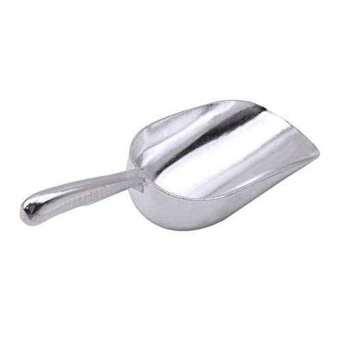 GGQT Metal Ice Cube Scoop for Home Bar Buffet Kitchen Scoops Food Candy Sugar Scoop