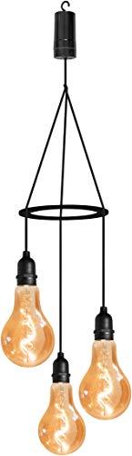 Luxform Lighting Flow - Lámpara de péndulo con 3 luces colgantes con temporizador de 24 horas