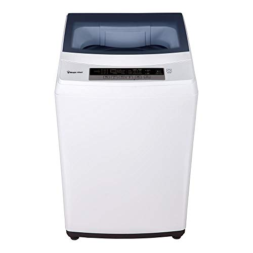 Magic Chef 2.0 Cu Ft 6 Cycle Portable Compact Apartment Small Top Load Washer Washing Machine, White