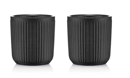 BODUM 12059-259 DOURO Set de 2 mugs en porcelaine double paroi, 0.1 l