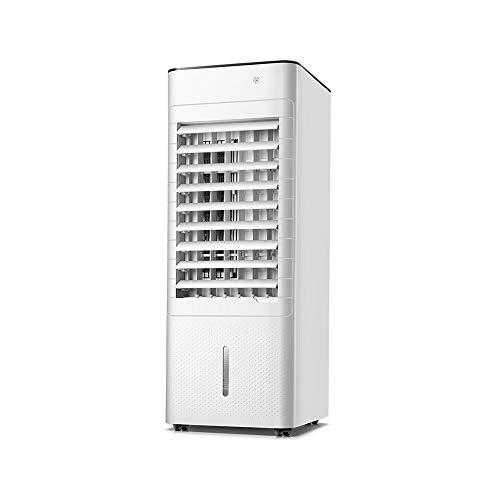 HANSHAN Mobile Klimageräte Mobile Klimaanlage mit Fernbedienung, 3 in 1 Evaporative Luftkühler Reiniger, Luftbefeuchter, 12-Stunden-Timer-Funktion, 3 Windgeschwindigkeiten, 7-Liter-Wassertank, Leistu
