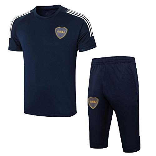 BK3 New Spring and Summer Men's Soccer Training Uniform Gift Soccer Club Training Fan Sports Jersey Traje.-A_Pequeña