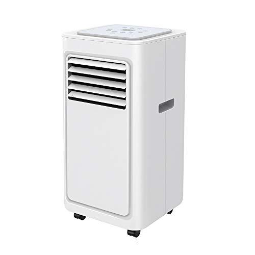 Famgizmo Climatizzatore Portatile | 7000 BTU Condizionatore Portatile | 3-in-1: Raffreddamento, Deumidificazione, Ventilazione | 2 Livelli di Ventilazione | Timer 24 ore | EEK: A | R290