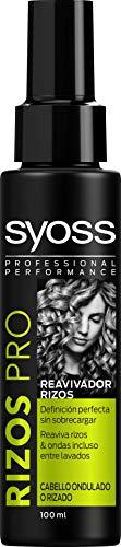 SYOSS - Reavivador de Rizos y Ondas - Efecto Anti Encrespamiento - 100 ml