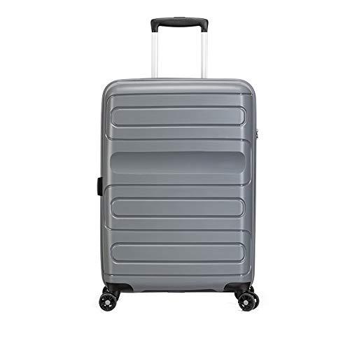 Harde schaal PP materiaal handbagage, medium 25 inch licht 4 wiel reizen bagage ingecheckt in bagage koffer