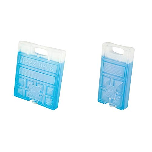 Campingaz M20 Acumulador Frio, Unisex, Azul, 17 x 3 x 20 cm + 9377 Acumulador Frio, Unisex, Azul, 18 x 9 4 x 3 2 cm