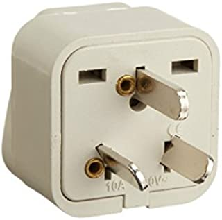Tmvel TMVAUSS Grounded Adapter Plug for America to Australia/New Zealand/China