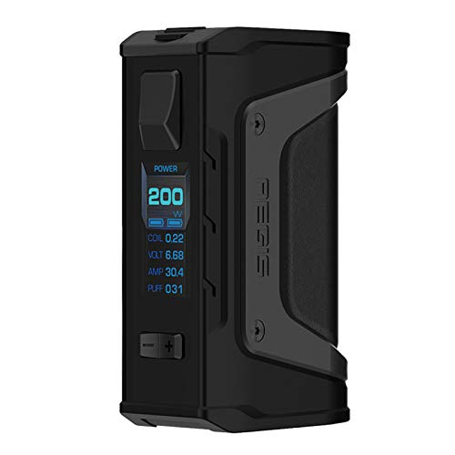 GeekVape Aegis Legende 200W TC Box MOD Neue AS Chipsatz Power von Dual Batterien e CIGS keine Batterie - kein Nikotin, keine E-Flüssigkeit (Stealth schwarz)