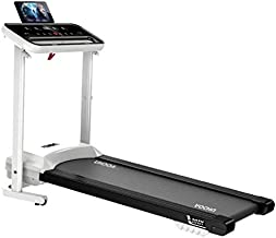 Folding Electric Treadmill for Home Jogging/Walking Running Machine Space Saving, Large Running Surface, Built-in LED Monitor & Speaker,Adjustable Speed,Indoor Exercise Workout Home Gym Training