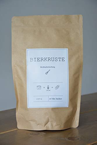 Die BIERKRUSTE / Dinkel Brotbackmischung für Bierliebhaber / zum Grillen, als Geschenk / Backmischung