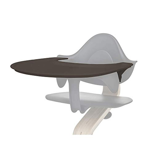 Tray by Evomove, Coffee, Accessory for use with the Award Winning Nomi High Chair, Easy to Clean