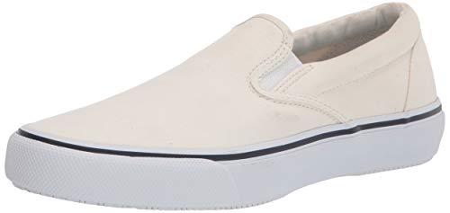 Sperry Top-Sider Striper II Baskets à enfiler pour homme, blanc (blanc), 45 EU