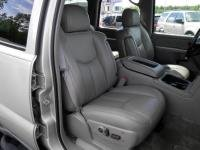 Durafit Seat Covers, 2003-2007 Chevy Tahoe, Suburban and GMC Yukon Front Captain Chairs Without Side Impact Airbags and Dual Electric Controls. Made in Gray Leatherette