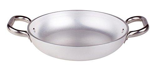 Pentole Agnelli ALMR111050 Tegame Radiante, Alluminio Professionale 5 mm, 50 cm